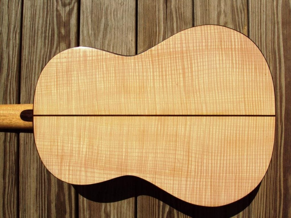 Flame Maple Guitar Top