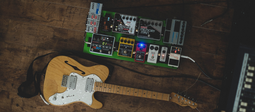 Optimize the order of your guitar pedals